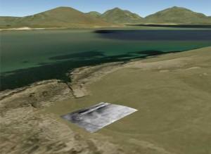 Landscape modelling and geophysical survey