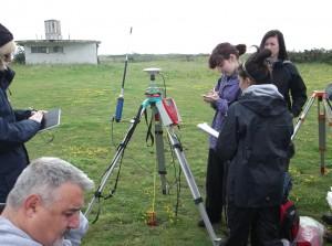 GPS training course with Caroline Sturdy Colls