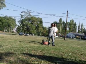 Ground Penetrating Radar survey at Staro Sajmiste