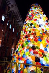 Meir Stoke on Trent Consumerist Christmas Tree