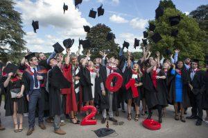 Graduation 2016 Hat Throw