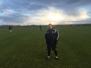 Chris Loughran in Iceland