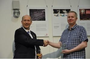 awarding of prize