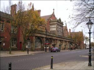 Stoke-on-Trent train station exterior