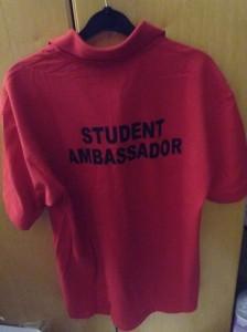 student ambassador top