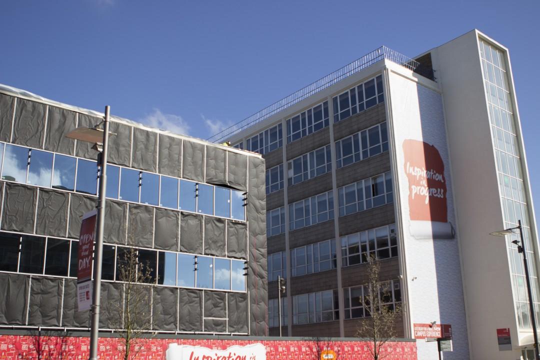 The New Beacon Building next to the Mellor