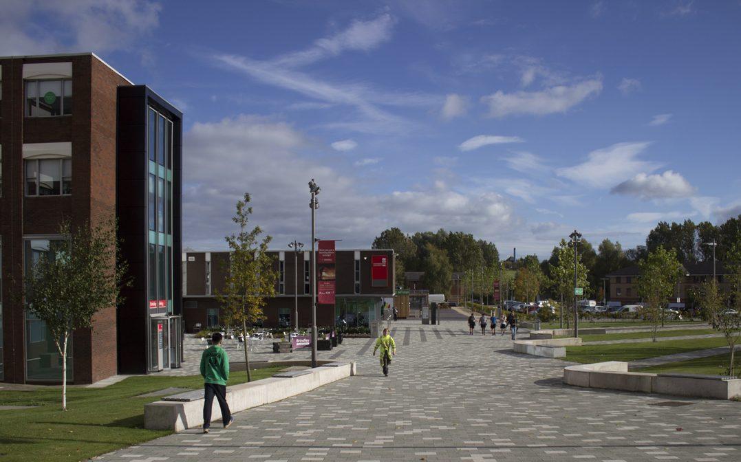 Leek Road campus at Staffordshire University