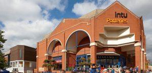 Intu Potteries Shopping Centre entrance