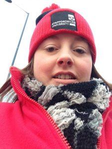 Staffordshire student ambassador lisa Rutter
