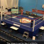 boxing ring at Staffs