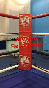 red corner boxing ring