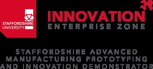 Staffordshire University Innovation Enterprise Zone, Staffordshire Advanced Manufacturing Prototyping and Innovation Demonstrator Logo
