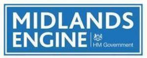 Midlands Engine HM Government Logo